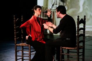 Rosa Angeles con Vicente Gelo